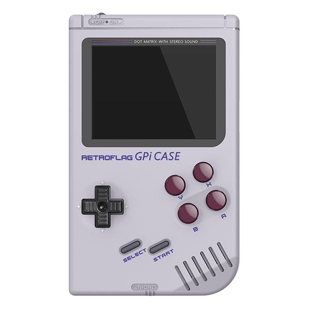 epic handheld retro console retroflag gpi FRONT