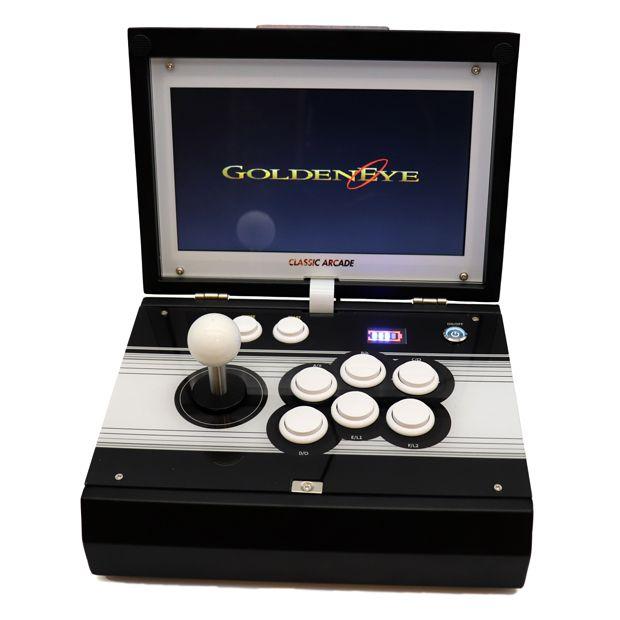 portable arcade machine 2448 games FRONT GOLDENEYE