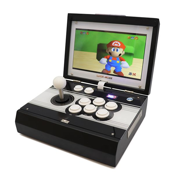 portable arcade machine 2448 games FRONT MARIO