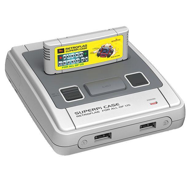 retropie retro gaming system console FRONT